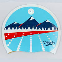 Шапочка для плавания SPEEDO POLYESTER CAP 8710110309 (полиэстер, синий) Код 8710110309