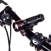 Фонарь велосипедный, основной+мигалка, BL-M1807-1A