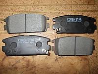 Колодки тормозные задние дисковые Hyundai (Хундай), KIA (КИА)
