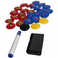 Набор аксессуаров для тактических досок SELECT (340), черн/желт/син