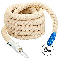 Канат для лазанья с креплением (5 м, d-4,5 см) R-6223-5