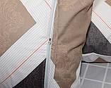 Евро комплект постельного белья в клеточку, Сатин-люкс, фото 6