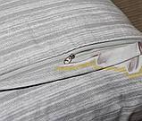 Євро комплект постільної білизни з кульбабами, Сатин-люкс, фото 6