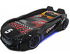 Дитяче ліжко машина Jaguar чорна, фото 4