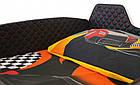 Дитяче ліжко машина Jaguar чорна, фото 6