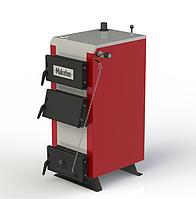 Твердотопливный котел длительного горения Kotlant КМ-12,5 кВт с механическим регулятором тяги