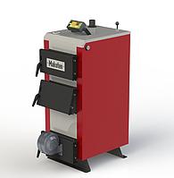 Твердотопливный котел длительного горения Kotlant КМ-12,5 кВт с автоматикой и вентилятором