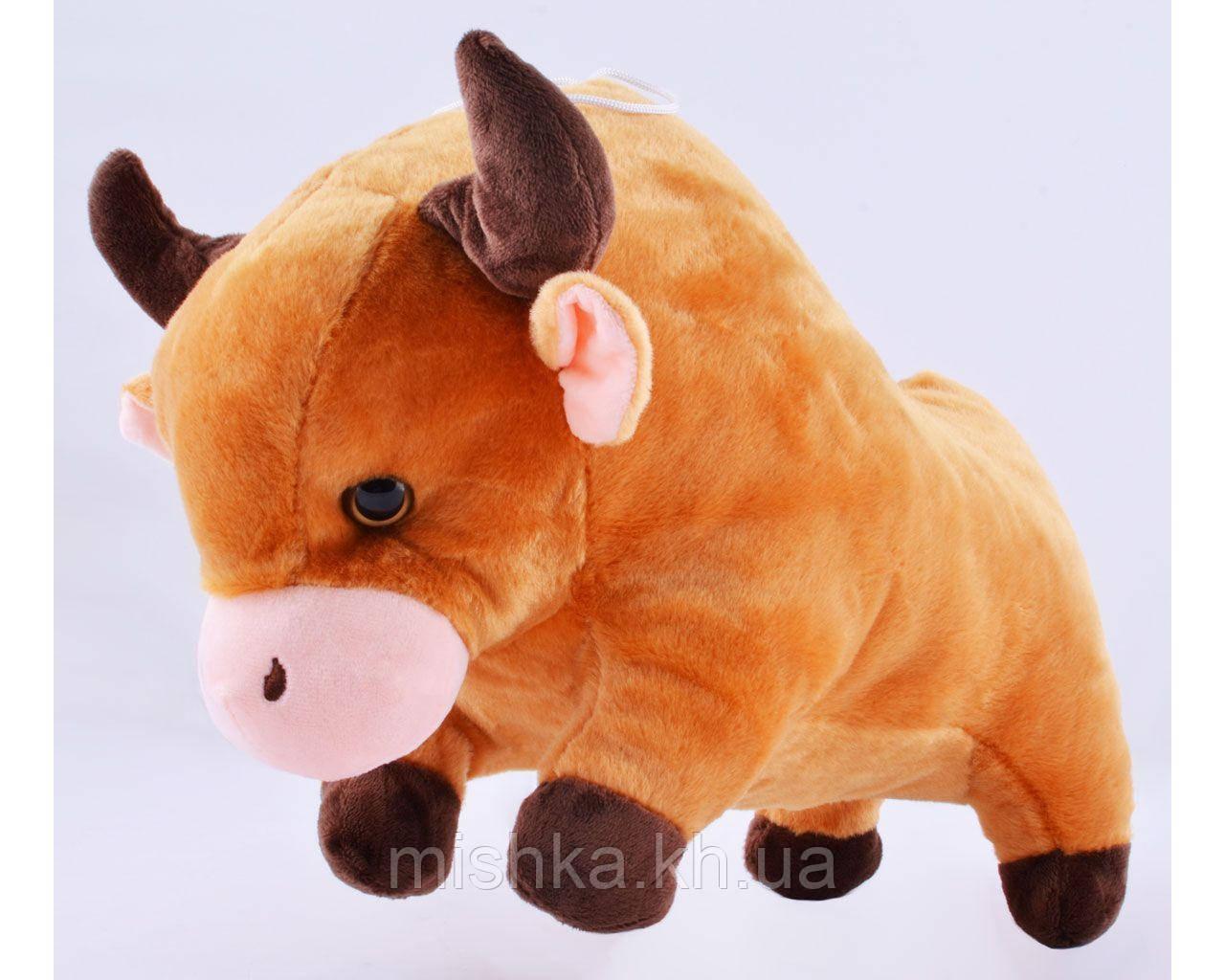 Мягкая игрушка Бычок блестящий №005467
