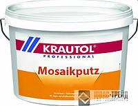 Krautherm Mosaikputz - готовая  декоративная штукатурка с наполнителем из цветных камней, 25 кг (ТМ Краутол)