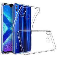 Чехол силиконовый TOTO TPU Case Clear Huawei Honor 8X прозрачный, фото 1
