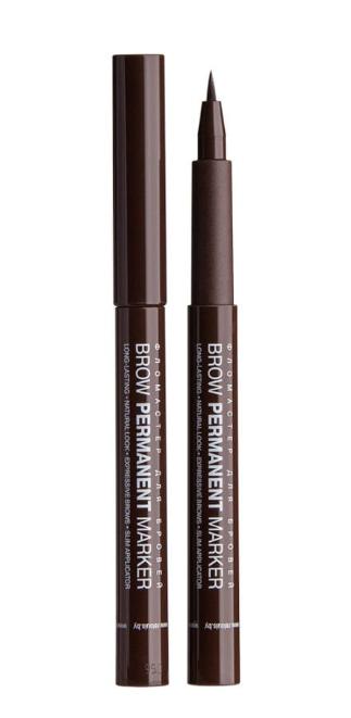 Фломастер для бровей Relouis Brow Permanent Marker №02 Brown