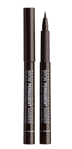 Фломастер для бровей Relouis Brow Permanent Marker №03 Dark Brown