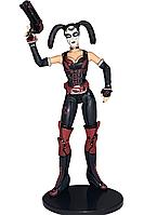 Игровая фигурка Харли Квин с аксессуарами из игры Аркхэм Сити, высота 17см - Harley Quinn, Arkham City DC