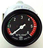 Манометр давления масла механический  20.3830  ЗИЛ, КамАЗ, КрАЗ   (вместо 121.3830)