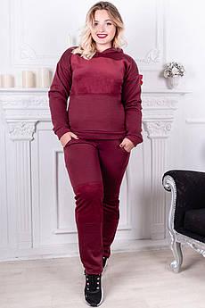 Теплий спортивний костюм Бріджит батал