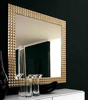 Зеркало прямоугольное в золотом багете №29, фото 1