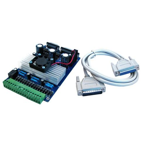 3-осевой контроллер шаговых двигателей ЧПУ TB6560