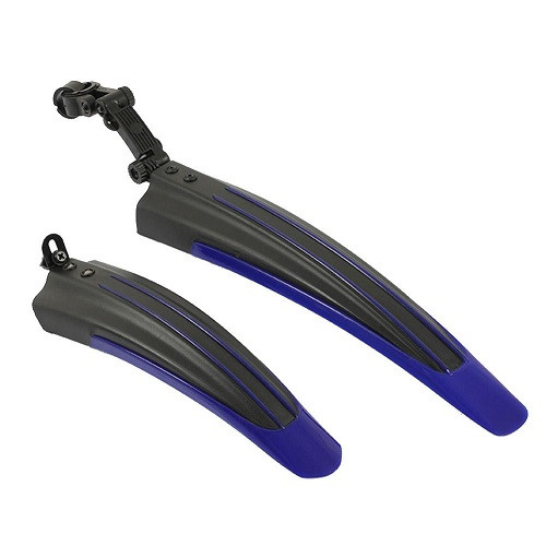 Комплект велокрыльев крылья брызговики велосипеда синие