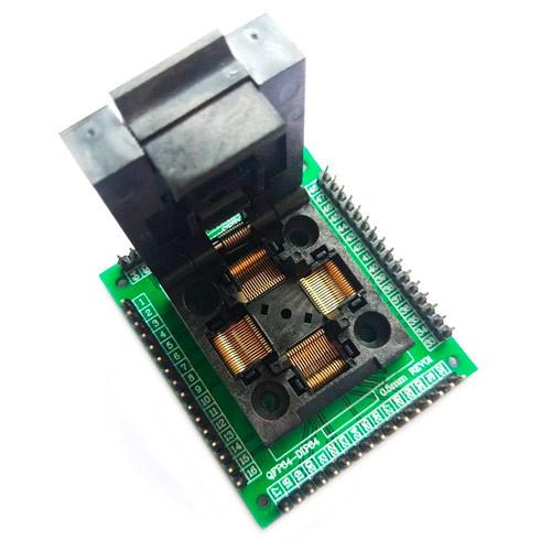 TQFP64 LQFP64 QFP64 - DIP64 переходник панелька для программатора