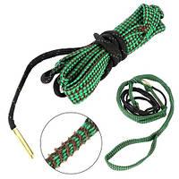Протяжка шнур змейка для чистки ствола оружия калибра 5.56мм
