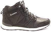 Кожаные зимние ботинки Restime на меху 45 размеры, фото 1
