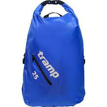 Рюкзак герметичный герморюкзак Tramp TRA-256 Diamond Rip-Stop 25 л Blue (007169)