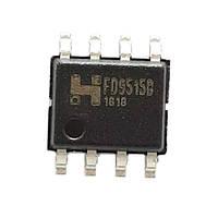 Чип FD9515B FD9515 SOP8, Контроллер питания LNB 14.3/19.3В 450мА 22КГц