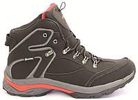 Зимние ботинки Restime из натурального нубука на меху 42,43 размеры, фото 1