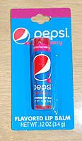 Бальзам для губ Pepsi Flavored Lip Balm Wild Cherry Пепси Дикая вишня, 3.4 грамма, 8-ми лет