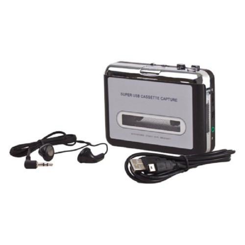 Касетний плеєр, касетник, оцифровка записів, USB
