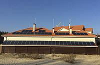 Солнечная электростанция 13 квт. Сетевое и резервное энергоснабжение. Киевская обл. с Лисныки