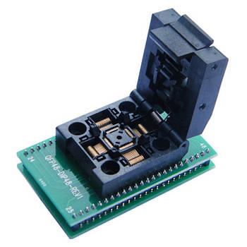 TQFP48 QFP48 PQFP48 - DIP48 перехідник панелька
