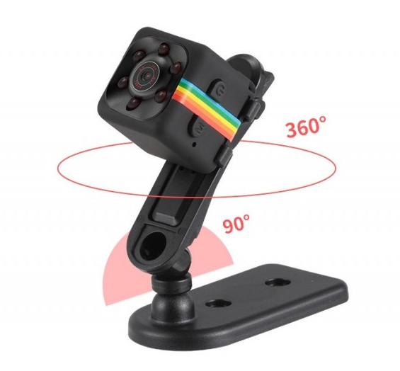 Мини камера SQ11 OMG 1920*1080P Full HD Black