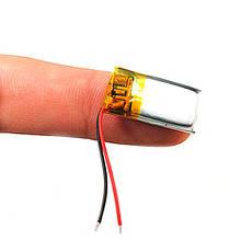 Аккумулятор 301020 Li-pol 3.7В 60мАч для MP3 Bluetooth наушников гарнитур