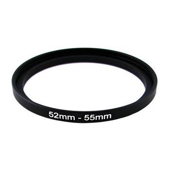Повышающее степ кольцо 52-55мм для Canon, Nikon