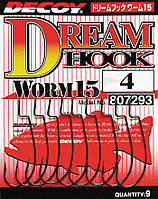 Крючок Decoy Worm15 Dream Hook #1 (9 шт/уп)
