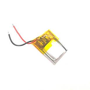 Аккумулятор 301215 Li-pol 3.7В 60мАч для MP3 Bluetooth наушников гарнитур