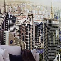 Фотообои бесшовные флизелиновые экологически чистые Metropolis города мегаполисы, фото 1