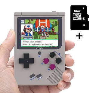 Ігрова приставка портативна BittBoy V3.5 +8ГБ Емулятор NES SMD GB PS1