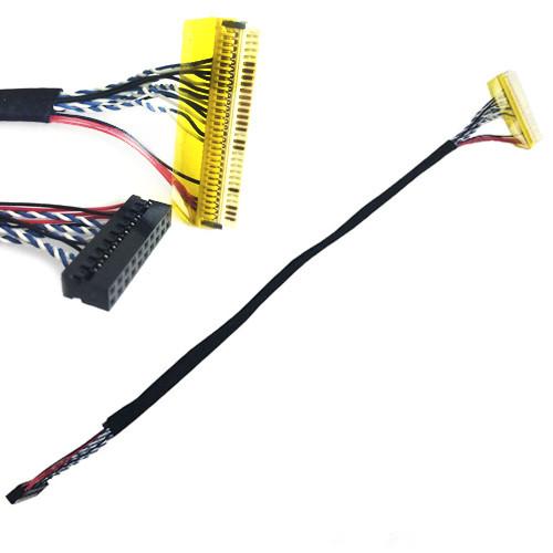 Кабель шлейф LVDS FI-X 30pin 1канал 8бит для ЖК матриц 18.5