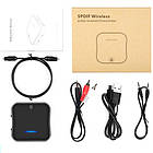 Bluetooth 5.0 аудио приемник передатчик aptX HD SPDIF VIKEFON BT-B19, фото 2