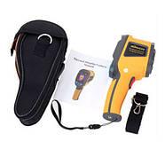 Профессиональный ИК тепловизор HT-02, цифровой термометр, фото 2