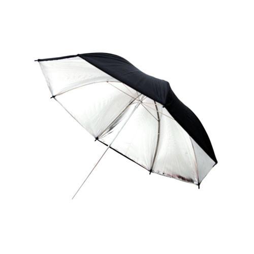 """Фото парасолька 101см сріблястий, 40"""" студійний"""