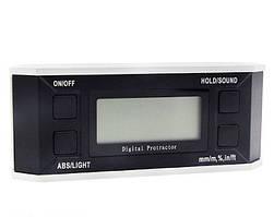 Инклинометр (цифровой угломер) (4х90°) с магнитом и подсветкой PROTESTER 5340-90