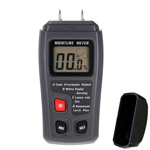 Цифровой измеритель влажности древесины влагомер 0-99.9% EMT01 MT-10