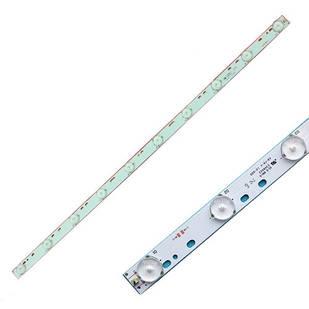 LED планка лампа подсветки ЖК телевизора 32, 570мм, 10LED 30В