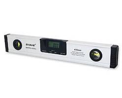 Электронный уровень с лазером и угломером (4*90°/400мм) PROTESTER 5419-400D