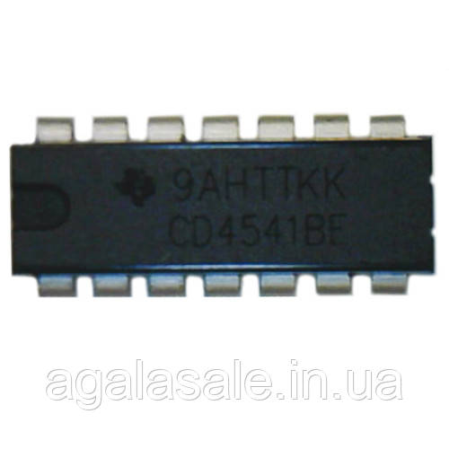 Чип CD4541BE CD4541 DIP14, Таймер программируемый