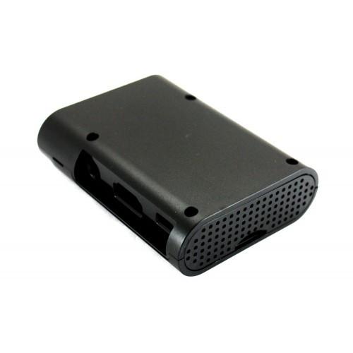 Корпус, кейс для Raspberry Pi B+ 2 B 2B 3 B 3B, черный