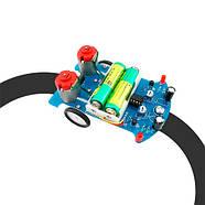 Робот BEAM Трек машинка ездящая по линии D2-5 Kit СОБЕРИ САМ DIY, фото 2